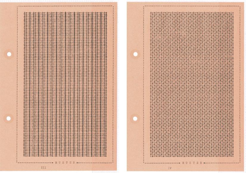 Falk Schwalbe, Typewriter-Pattern, Schriftmuster, Schrift-Kunst, Typewriter-Pictures