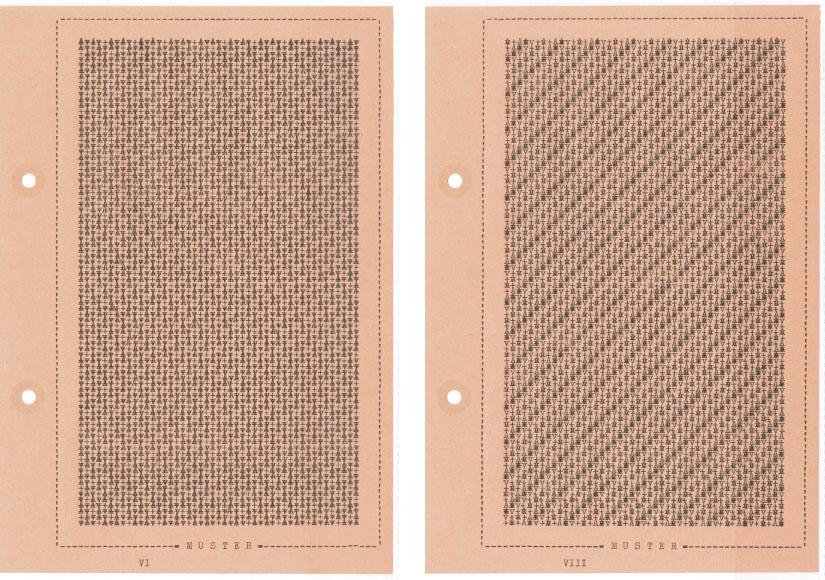 Falk Schwalbe, Letter-pattern, Letter-Pictures, Letterart, Schreibmaschinenmuster