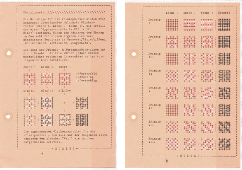 Falk Schwalbe, Letter-Art, Rasterkunst, Pixelmuster, Mustergenerator