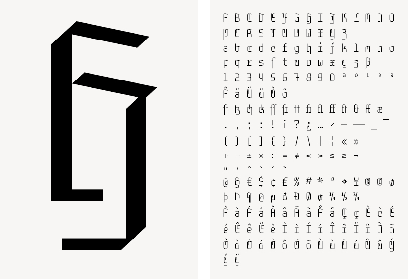 Falk Schwalbe, Gebrochene Schreibmaschinenschrift, Black Letter Monospace, Fraktur Schreibmaschine